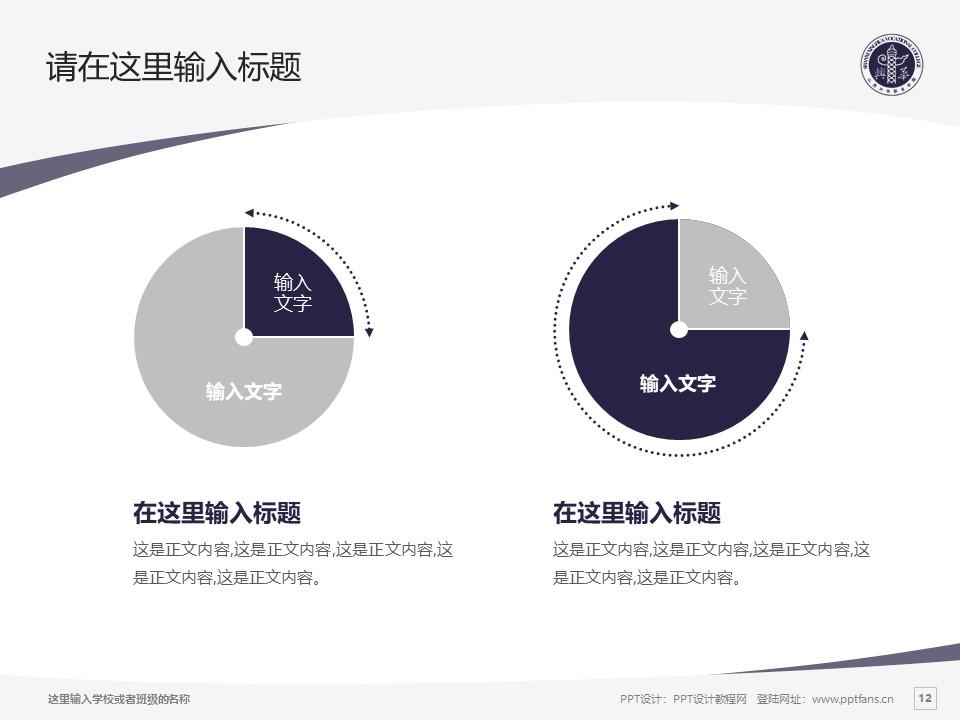 山西兴华职业学院PPT模板下载_幻灯片预览图12