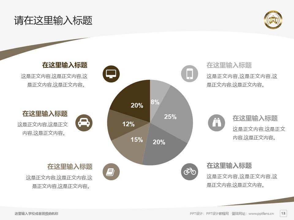 上海电影艺术职业学院PPT模板下载_幻灯片预览图13