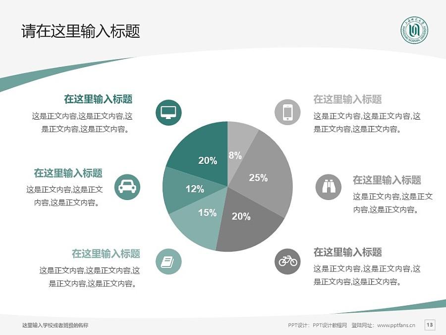 上海师范大学PPT模板下载_幻灯片预览图13