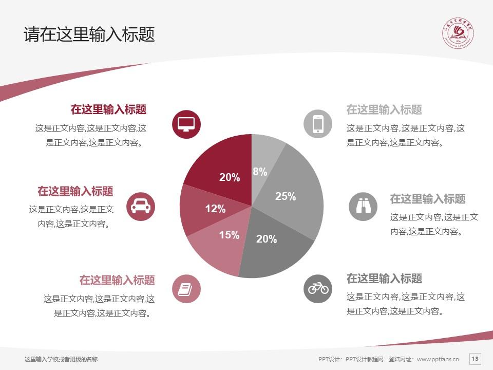 江苏商贸职业学院PPT模板下载_幻灯片预览图13