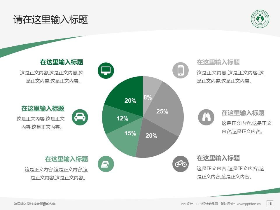 徐州幼儿师范高等专科学校PPT模板下载_幻灯片预览图13
