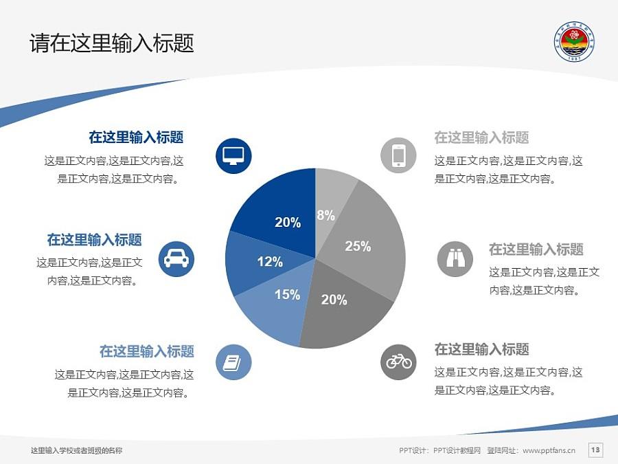 石家庄科技信息职业学院PPT模板下载_幻灯片预览图13