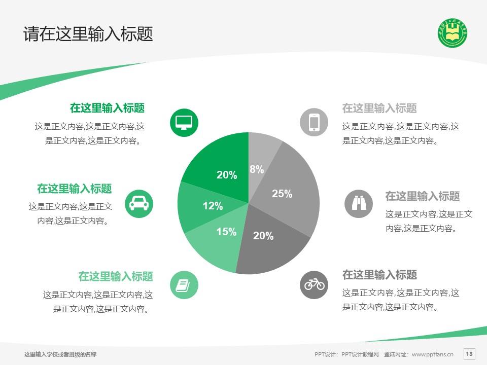安徽粮食工程职业学院PPT模板下载_幻灯片预览图13