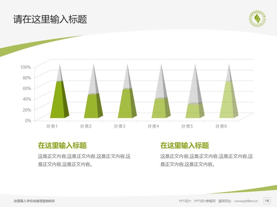 上海济光职业技术学院PPT模板下载_幻灯片预览图16