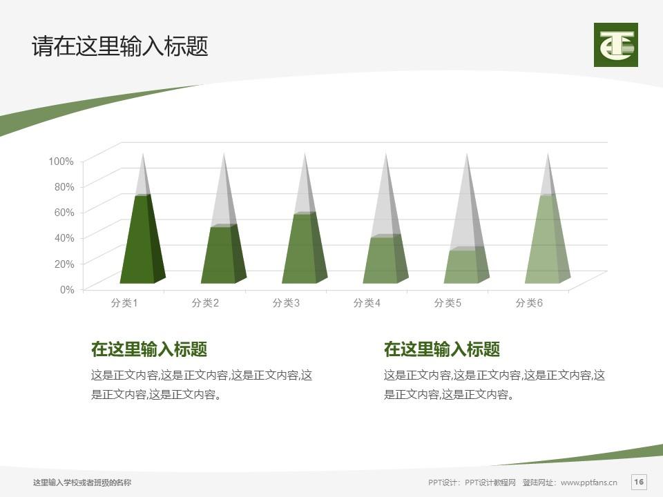 民办安徽旅游职业学院PPT模板下载_幻灯片预览图16