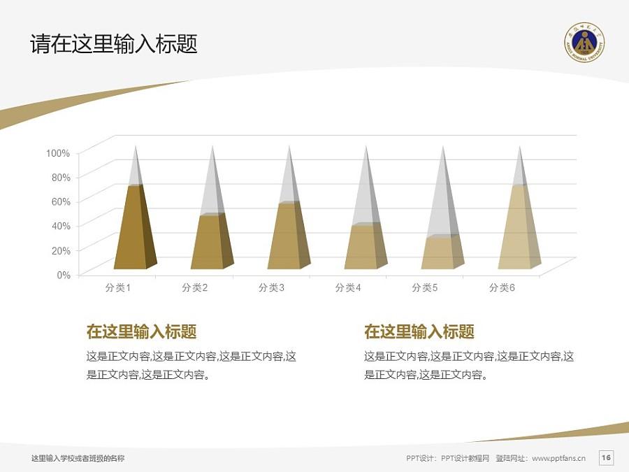 安徽师范大学PPT模板下载_幻灯片预览图16