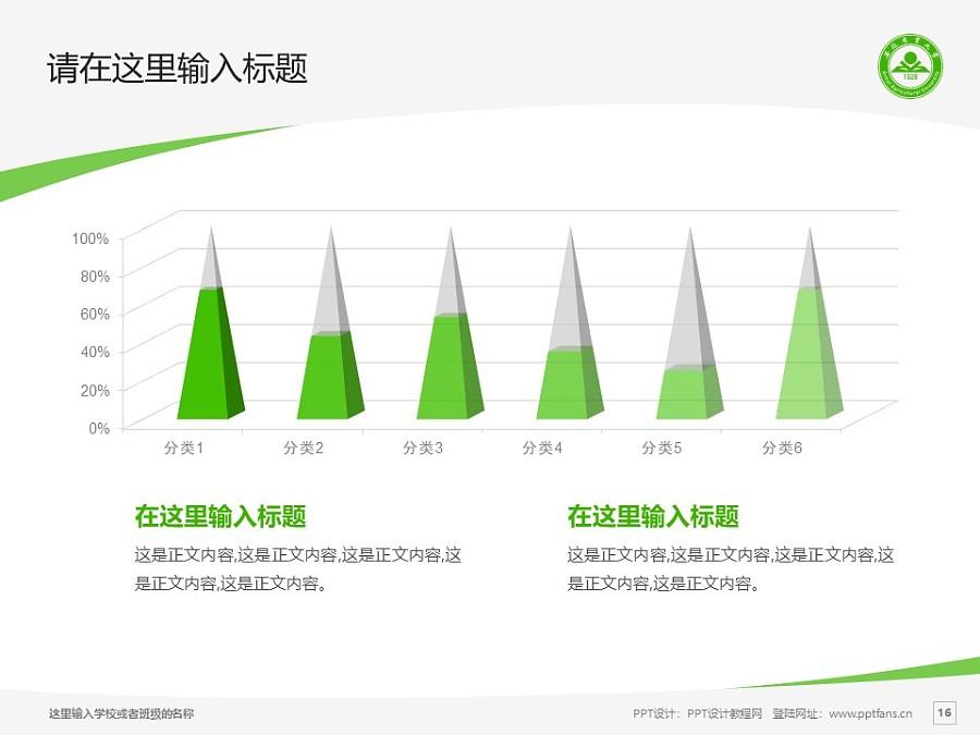 安徽农业大学PPT模板下载_幻灯片预览图16