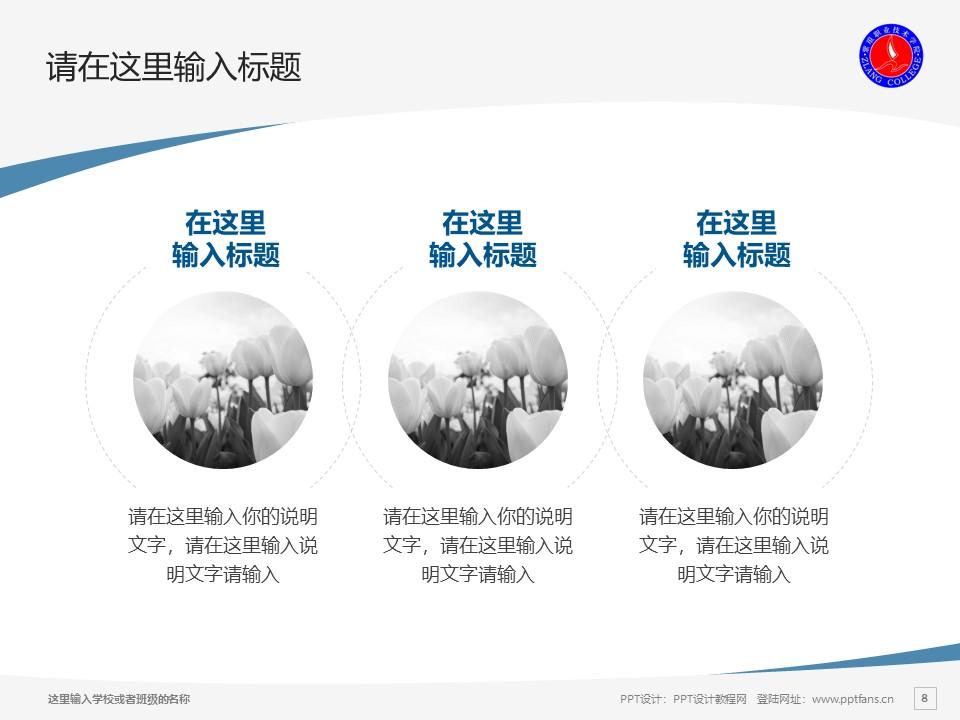 紫琅职业技术学院PPT模板下载_幻灯片预览图8
