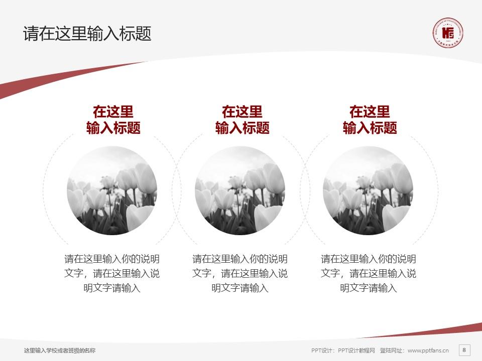 民办合肥财经职业学院PPT模板下载_幻灯片预览图8