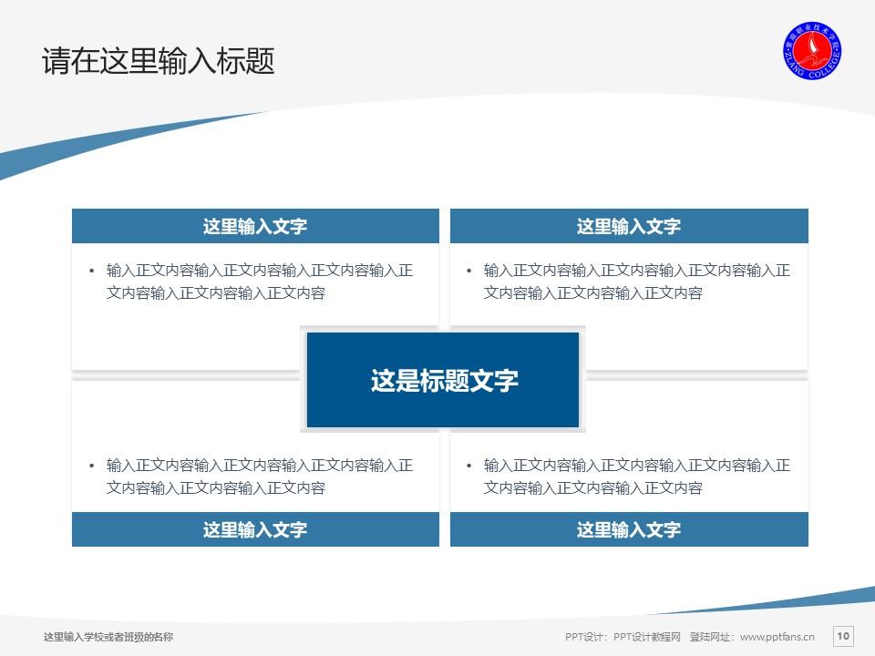 紫琅职业技术学院PPT模板下载_幻灯片预览图10