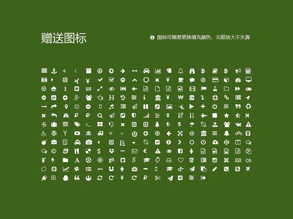 民办安徽旅游职业学院PPT模板下载_幻灯片预览图34
