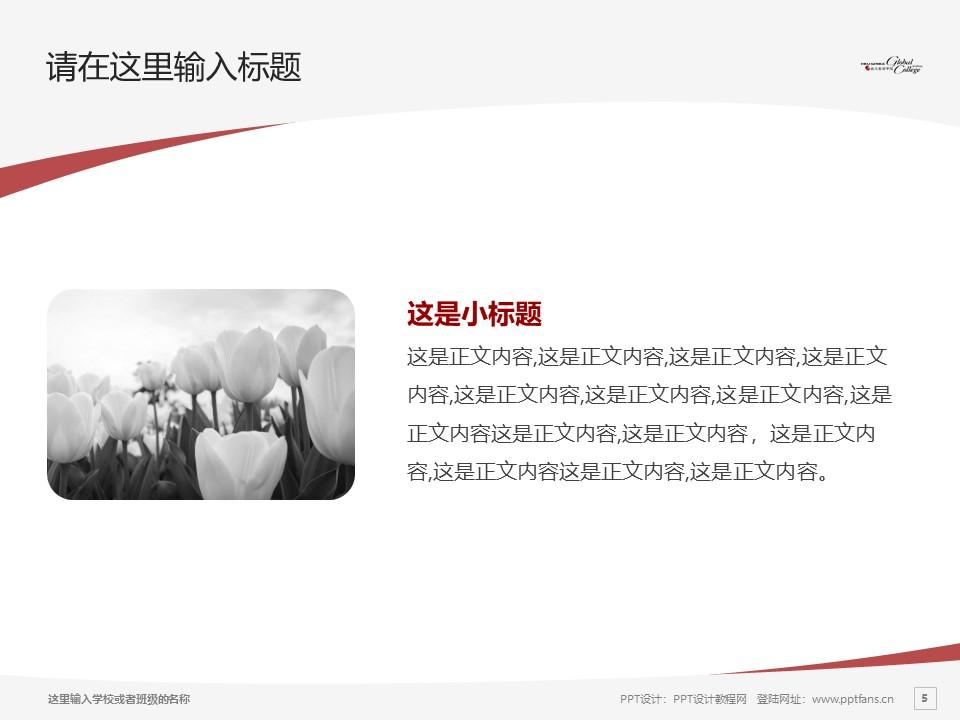 苏州港大思培科技职业学院PPT模板下载_幻灯片预览图5