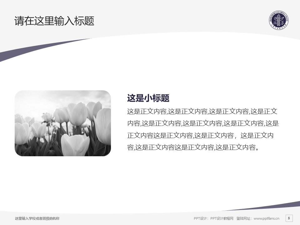 山西兴华职业学院PPT模板下载_幻灯片预览图5