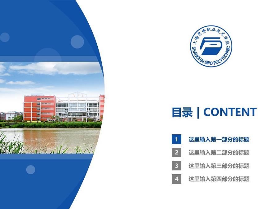 上海思博职业技术学院PPT模板下载_幻灯片预览图3