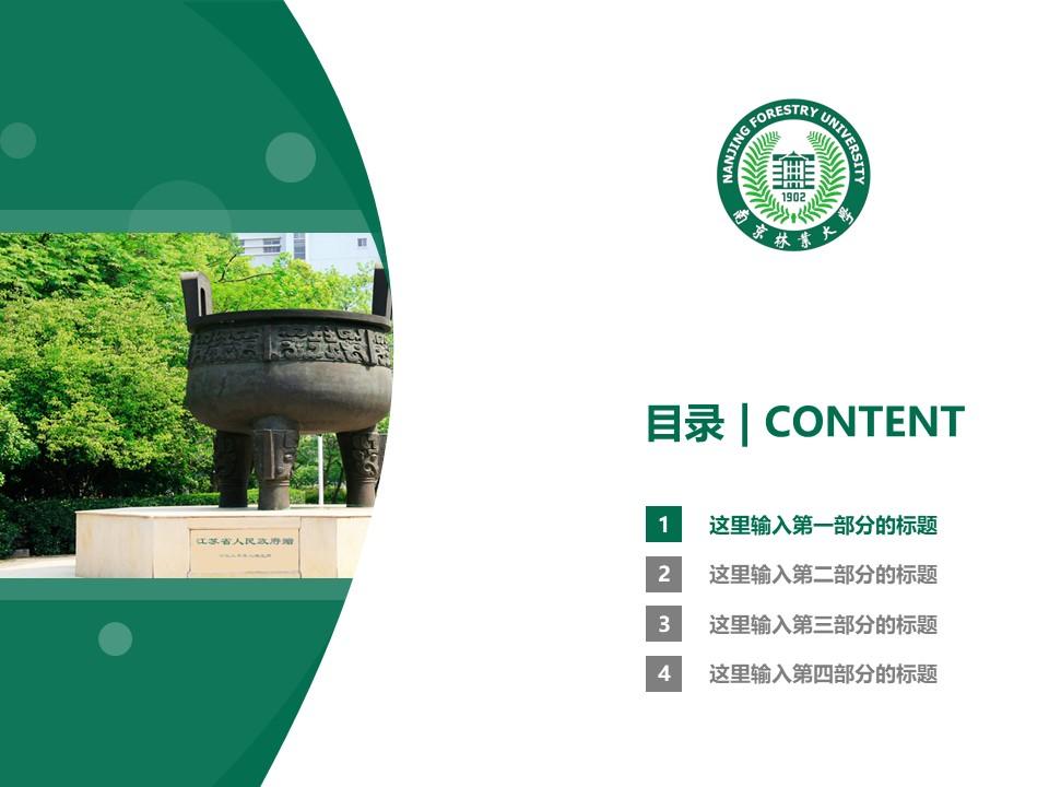南京林业大学PPT模板下载_幻灯片预览图3