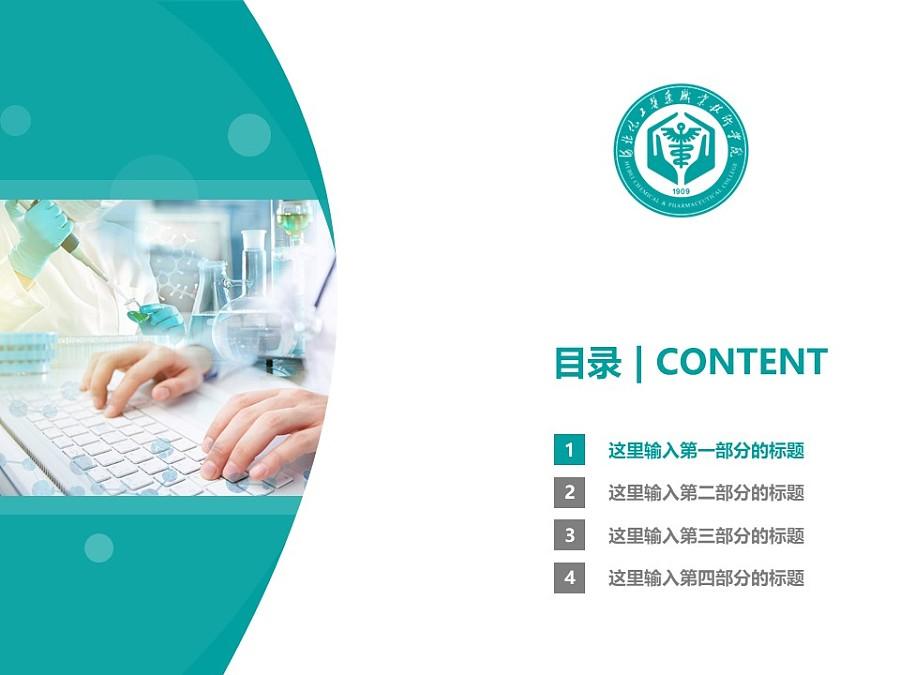 河北化工醫藥職業技術學院PPT模板下載_幻燈片預覽圖3