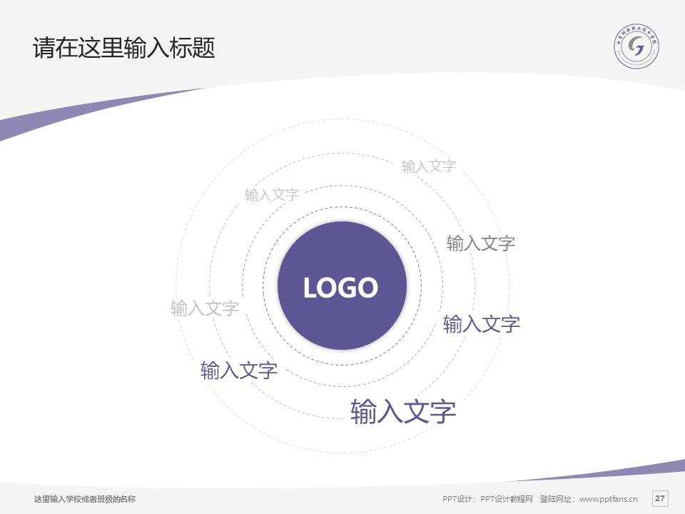 甘肃钢铁职业技术学院PPT模板下载_幻灯片预览图27