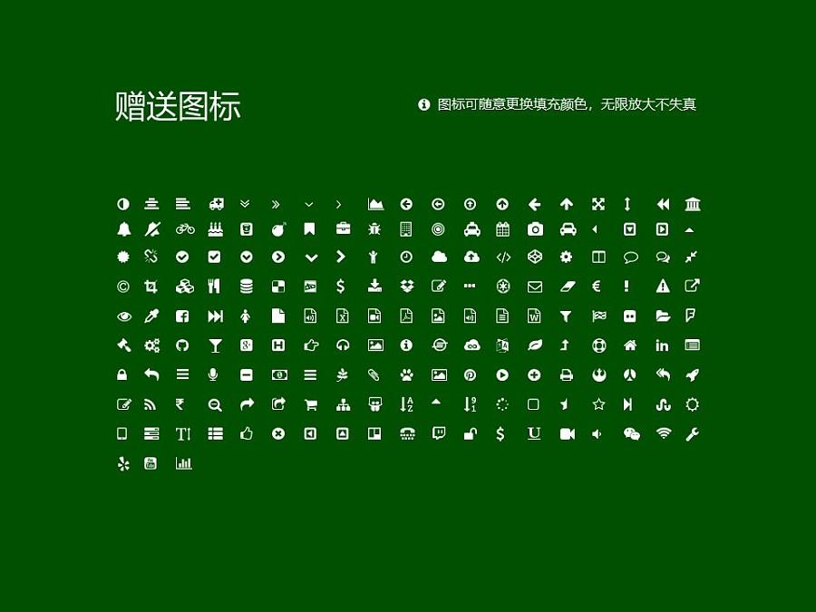 武威职业学院PPT模板下载_幻灯片预览图35