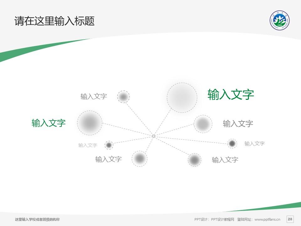 喀什大学PPT模板下载_幻灯片预览图28