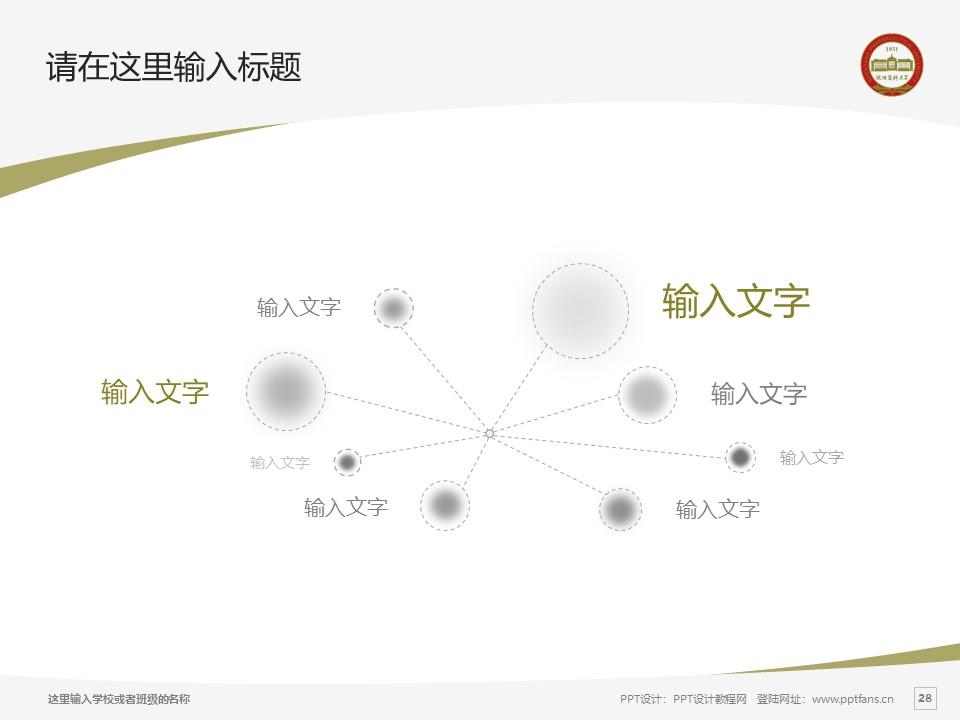 沈阳药科大学PPT模板下载_幻灯片预览图28