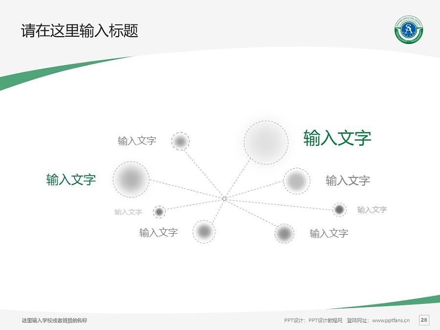 沈阳农业大学PPT模板下载_幻灯片预览图28