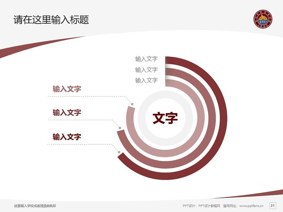 宁夏理工学院PPT模板下载_幻灯片预览图21