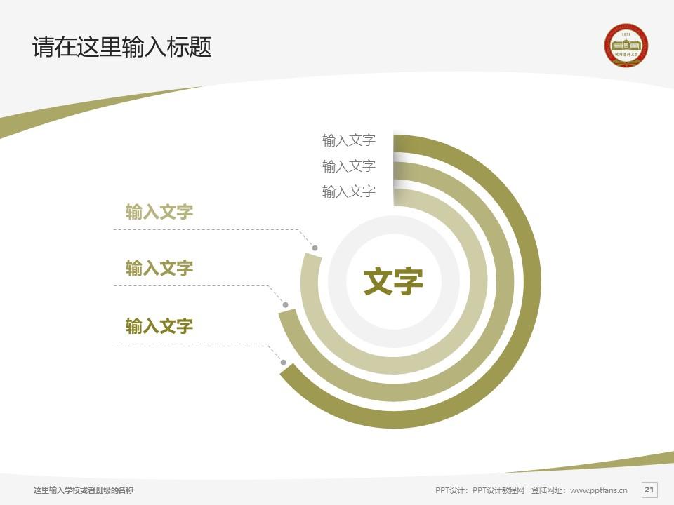 沈阳药科大学PPT模板下载_幻灯片预览图21