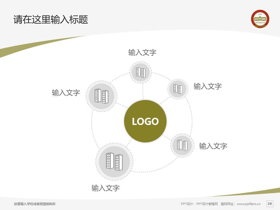 沈阳药科大学PPT模板下载_幻灯片预览图26