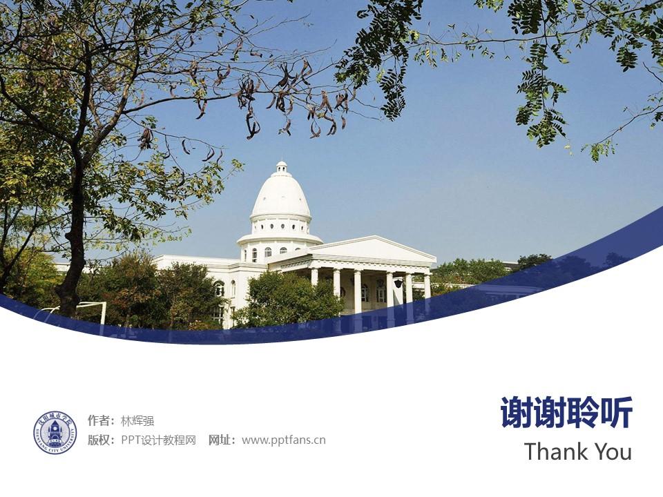 沈阳城市学院PPT模板下载_幻灯片预览图32