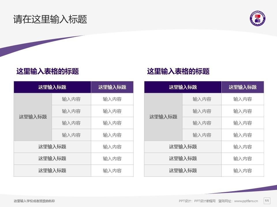 辽宁装备制造职业技术学院PPT模板下载_幻灯片预览图11