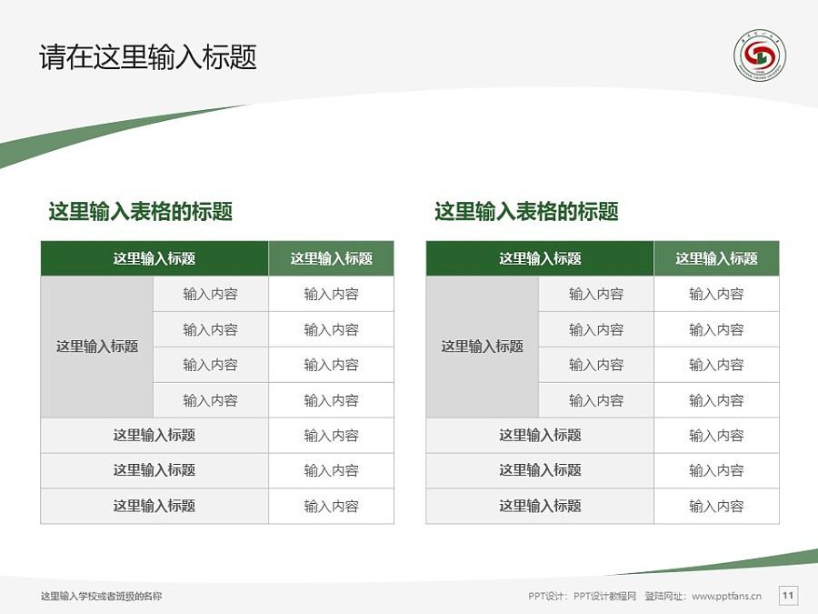 沈阳理工大学PPT模板下载_幻灯片预览图11