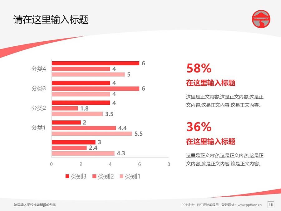 岭南大学PPT模板下载_幻灯片预览图18