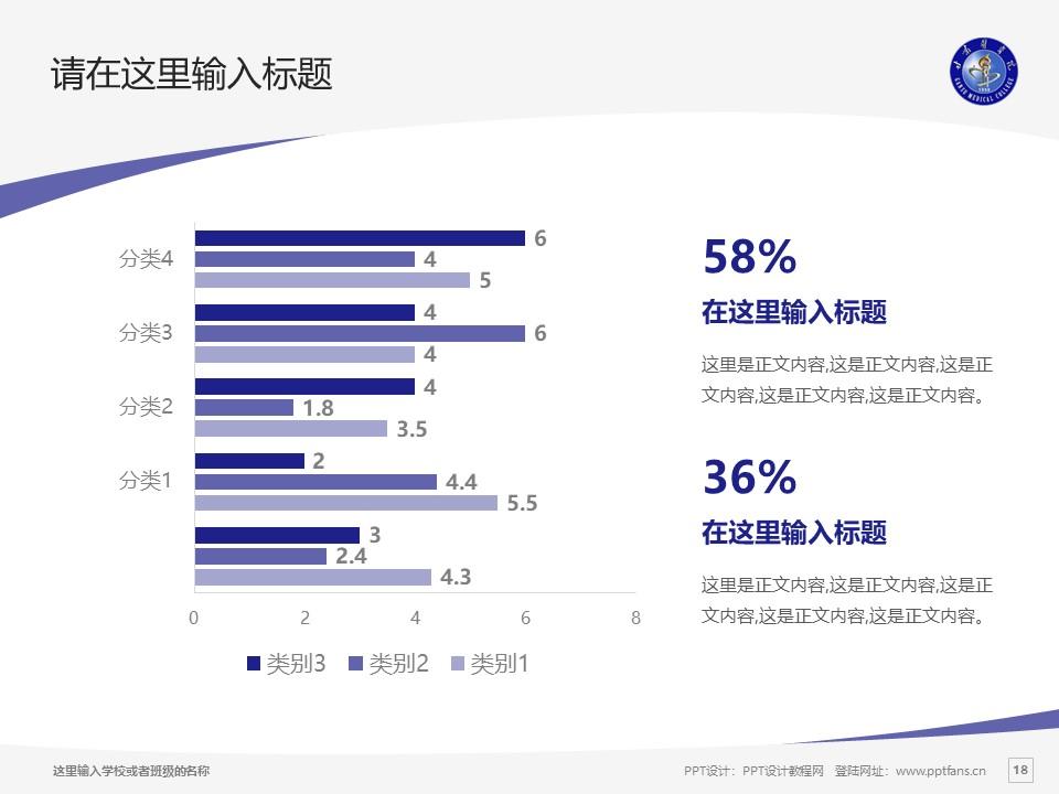甘肃医学院PPT模板下载_幻灯片预览图18