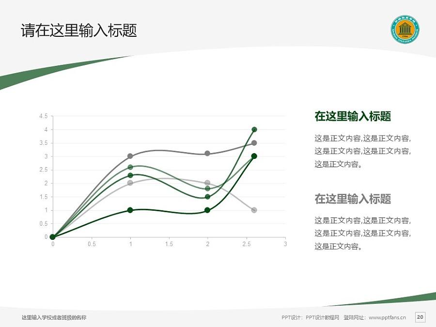 新疆师范高等专科学校PPT模板下载_幻灯片预览图20