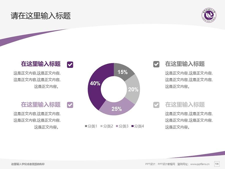 辽宁石油化工大学PPT模板下载_幻灯片预览图14