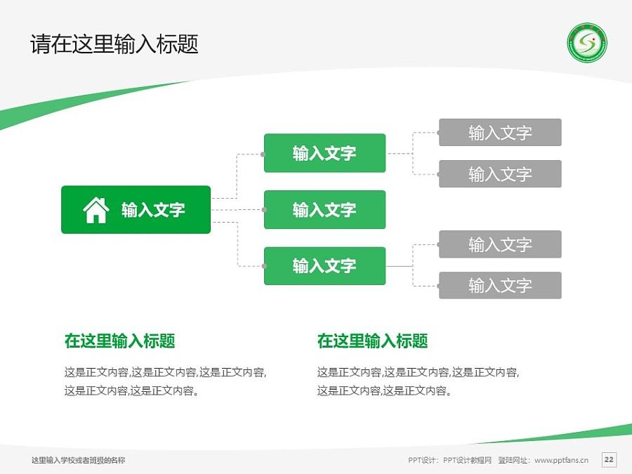 山西财经大学PPT模板下载_幻灯片预览图22
