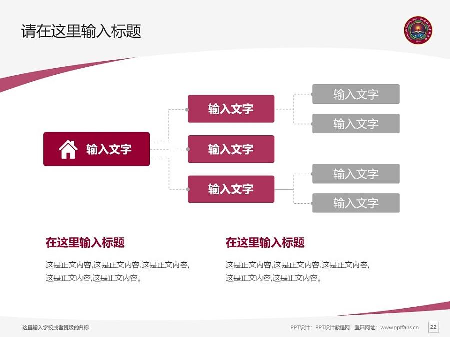 和田师范专科学校PPT模板下载_幻灯片预览图22
