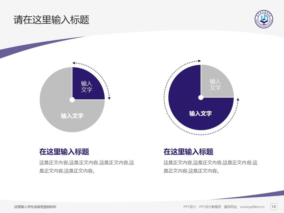 辽宁轻工职业学院PPT模板下载_幻灯片预览图12