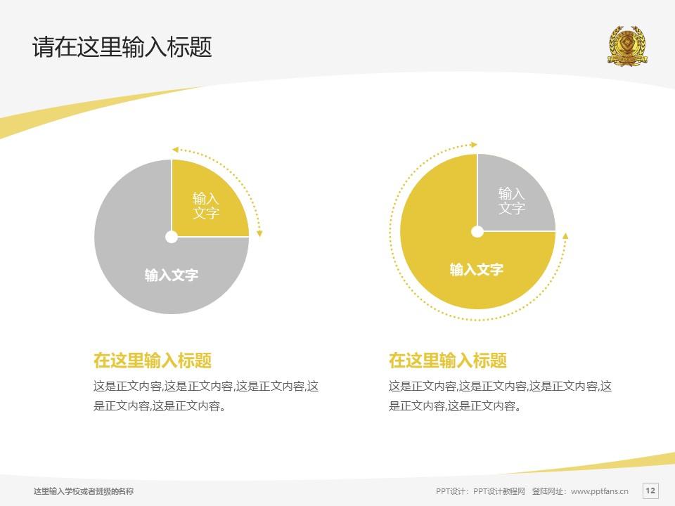 辽宁政法职业学院PPT模板下载_幻灯片预览图12
