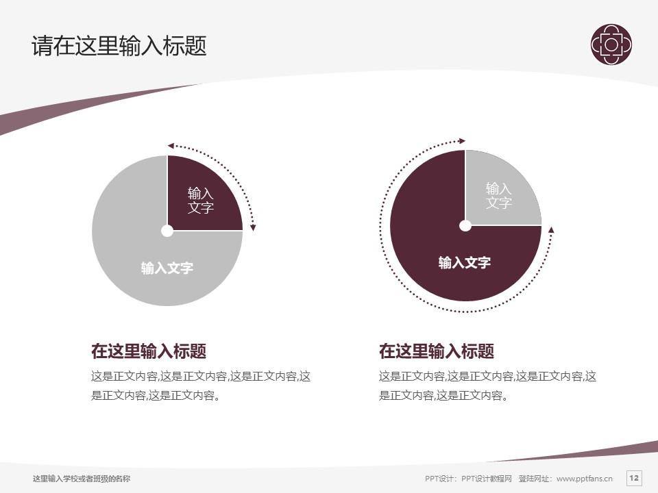 辽宁交通高等专科学校PPT模板下载_幻灯片预览图12