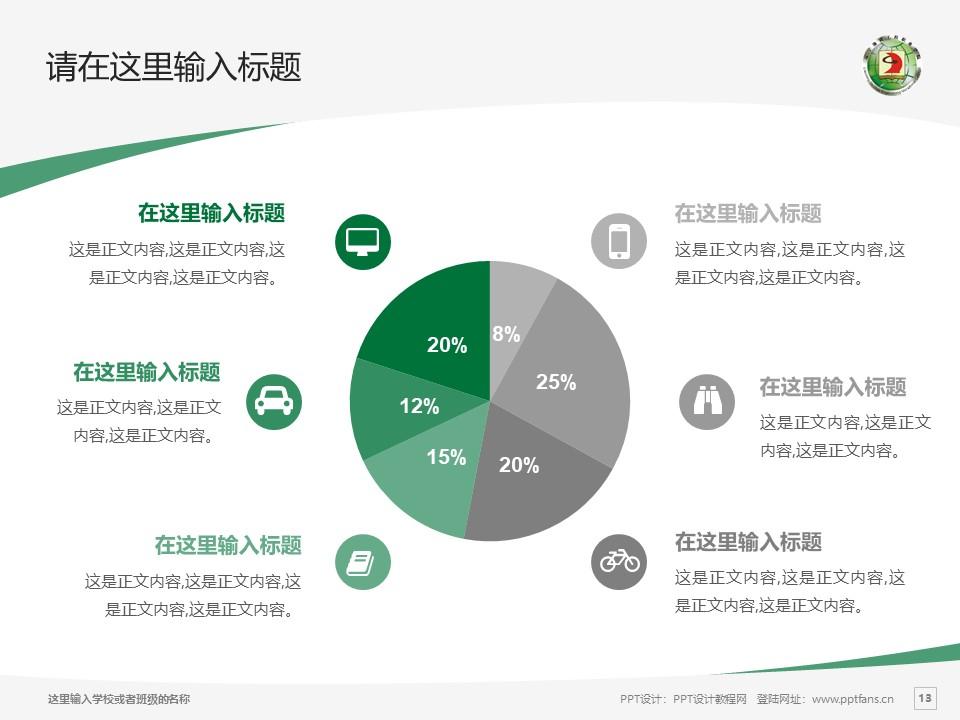 辽宁地质工程职业学院PPT模板下载_幻灯片预览图13
