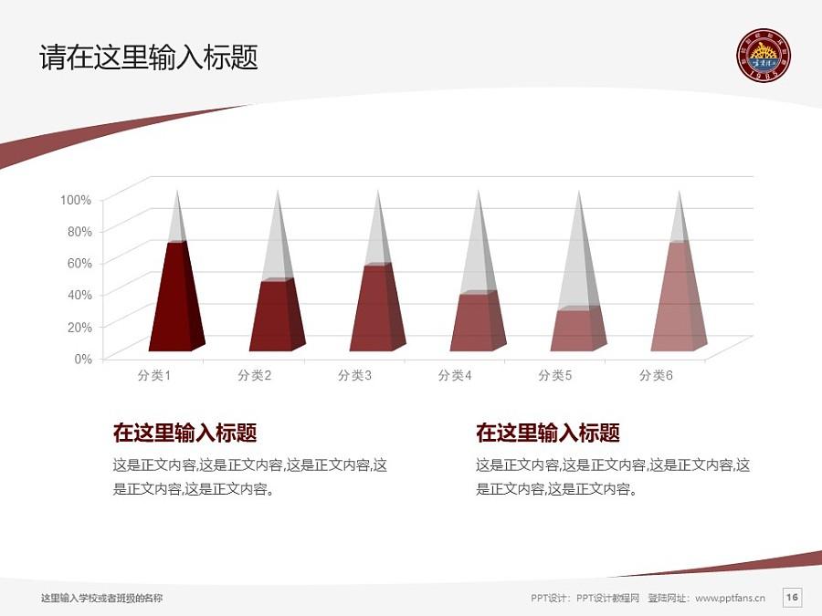 宁夏理工学院PPT模板下载_幻灯片预览图16