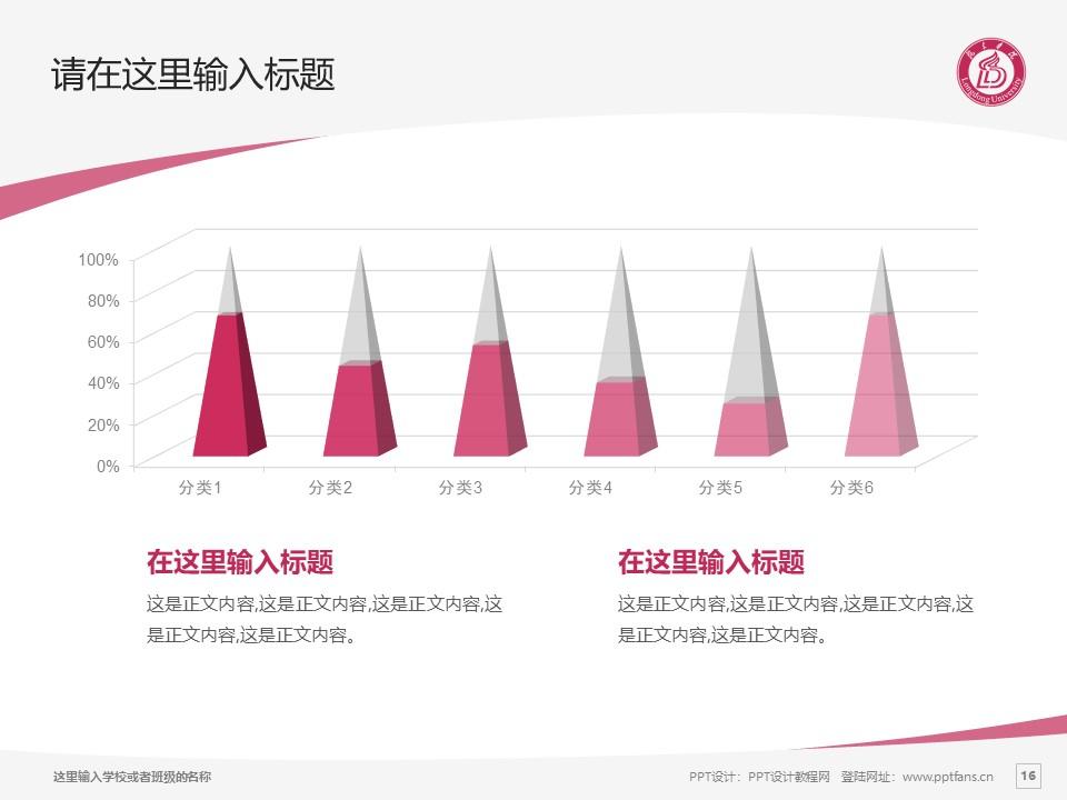 陇东学院PPT模板下载_幻灯片预览图16