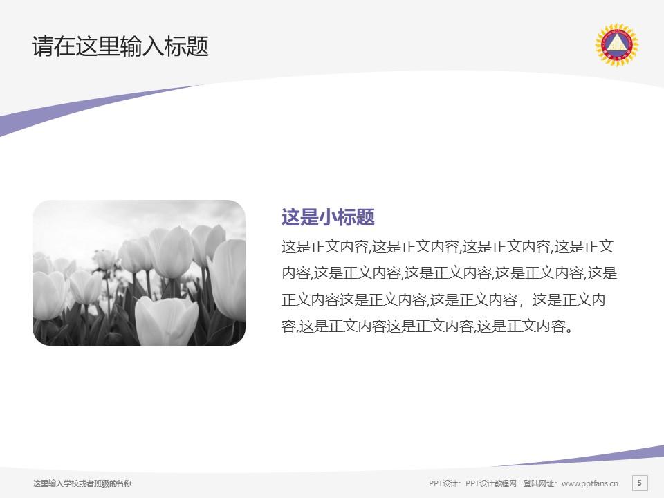 香港三育书院PPT模板下载_幻灯片预览图5