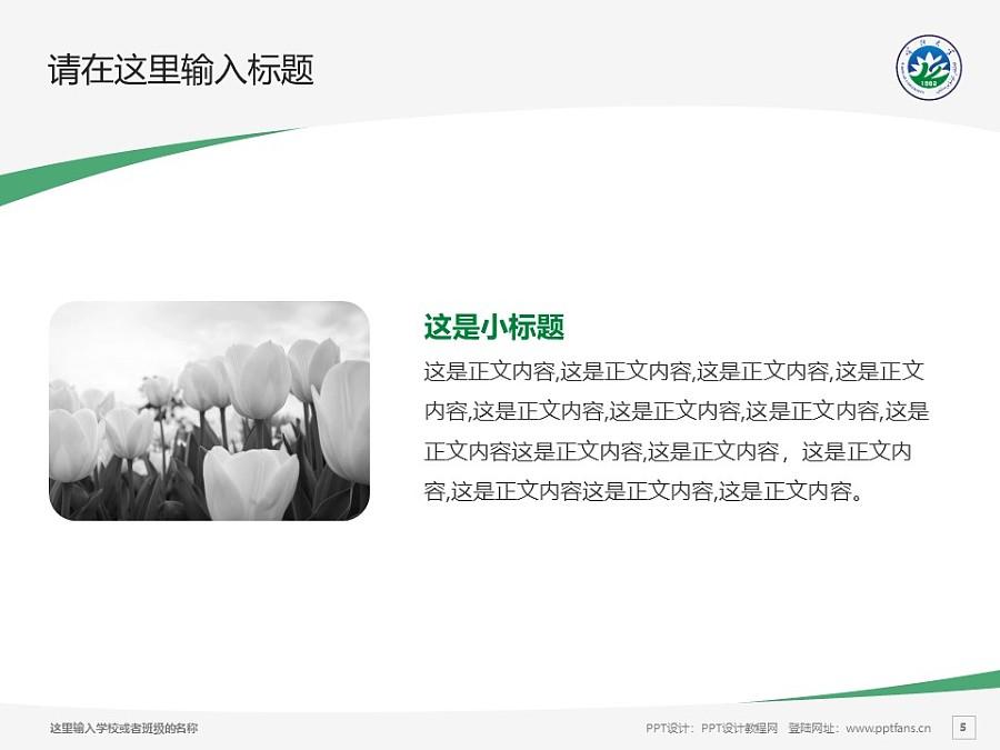 喀什大学PPT模板下载_幻灯片预览图5