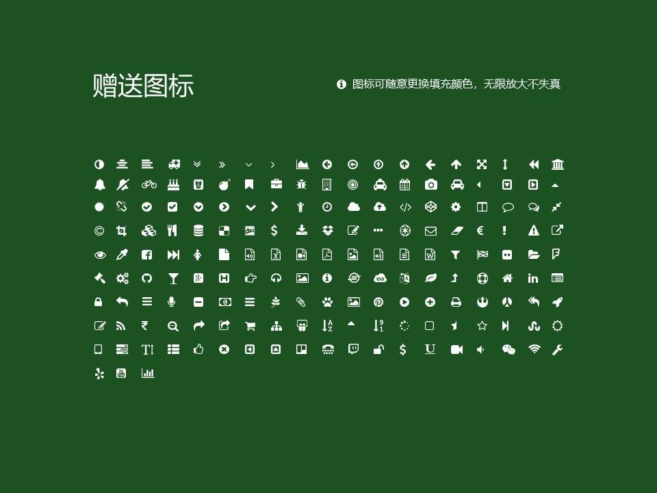 鹤岗师范高等专科学校PPT模板下载_幻灯片预览图35