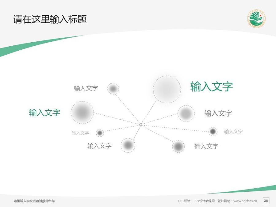 大庆师范学院PPT模板下载_幻灯片预览图28