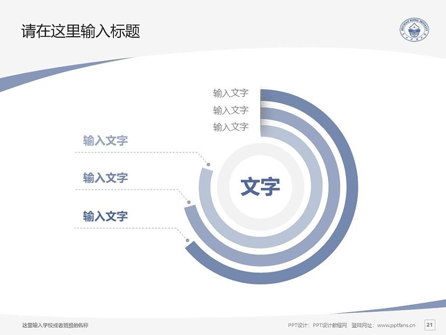 东北师范大学PPT模板_幻灯片预览图21