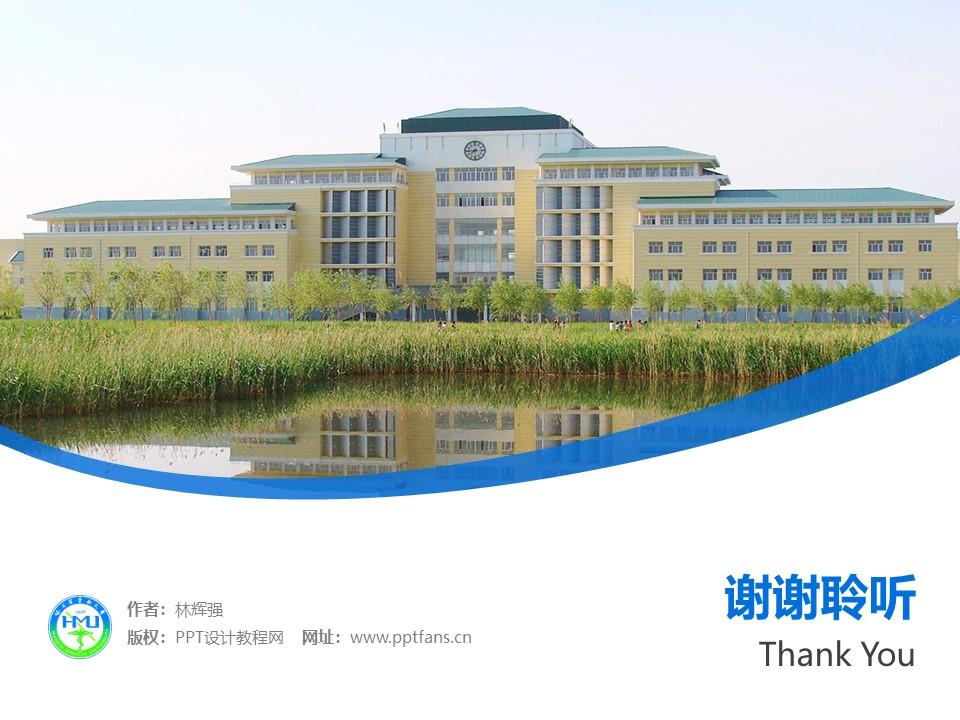 哈尔滨医科大学PPT模板下载_幻灯片预览图32