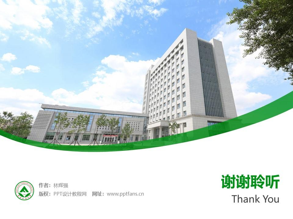东北林业大学PPT模板下载_幻灯片预览图32